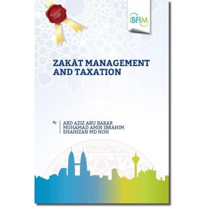 Zakat Management and Taxation